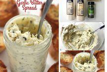 Garlic butter spread - garlic bread