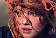 Red hair <3