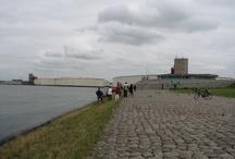 Waterweg / De sluiting van de Maeslantkering...