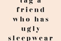 Instagram Post Come on don't be shy. Real friends don't let their friends go to bed in baggy tee shirts.