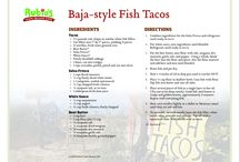 Foods / Rubios fish tacos
