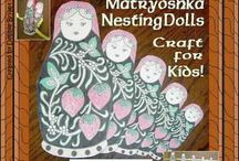 KIDS // cultural crafts and activities / by Wendy