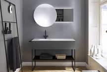 Coco / Coco is a charming bridge between two worlds: calm, clear and subtle, but also individual, extremely design-oriented and functional.  Furniture and the wash basin come together to form an impressively refined unit that also displays wonderful interplay between round and angular. This is teamed with storage solutions that take the furnishing preferences of urban trendsetters into account in many of their shapes.