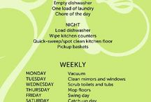 Weekly Cleaning / by Jenny Ramsey