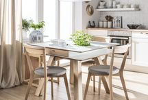 Stół VOX / Stół to centrum dowodzenia domowego. To chyba jedyny mebel który wykorzystujemy na tak wiele sposobów. Posiłki, święta, przyjęcia, gry, zabawy, hobby, pasję i praca.