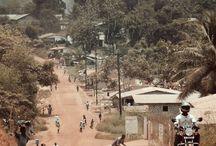 Mis viajes por Liberia / Estas son mis crónicas viajeras por países en Liberia, Africa.