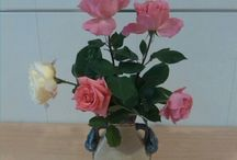 decoraciones florales y aire vintage