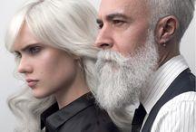 TRENDY GREY - Thierry Lothmann / Le gris fait partie des tendances coiffures. Trendy Grey s'adresse aux femmes pour souligner leurs personnalités, la coloration grey ou blanche associée à un brushing mousseux ou un chignon banane déstructuré, renforce le côté glamour d'une femme et le fait qu'elle s'affirme en tant que telle. #Trendy #Grey #50shadesofgrey  #ThierryLothmann #CoiffeurCréateur #Tendances #Coiffure