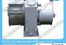 Electrical lifeboat winch / Electrical lifeboat winch / by Zhuhai City Deyuan Import&Export Co., Ltd