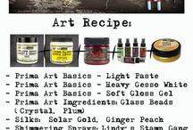 Art Recipe ~ inspiration & techniques