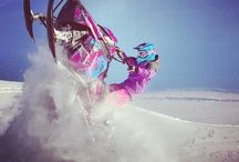 Snowmobile girls