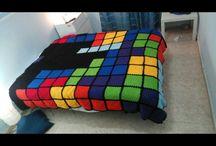 my knit blankets