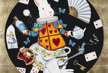 Alice In Wonderland Art by Marie Louise Wrightson