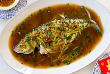 Special Menu at Hing's Chinese Restaurant / Steamed Whole Fish; Hong Kong Style Roasted Duck; Ginger & Scallion Crab; Salt and Pepper Lobster