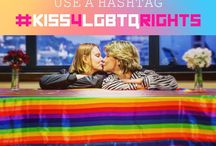 """#Kiss4LGBTQrights / Send your kiss to participate in the #Kiss4LGBTQrights movement and help amplifying the voices to the LGBTQ population in Russia.    It's easy to participate. Post a photo of you kissing your partner, your friend… Click to add a location for the photo, and type """"Kremlin"""". And don't forget to use the hashtag #Kiss4LGBTQrights.  Together, we can give a voice to thousands of people in Russia. Share this message and join the movement."""