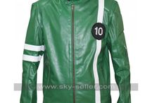 Ben Tennyson (Ryan Kelley) Ben 10 Leather Jacket / Buy this sophisticated Ben Tennyson (Ryan Kelley) Ben 10 Leather Jacket at most affordable price from Sky-Seller and avail free shipping