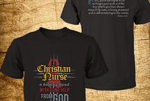 Christian T-Shirts for Nurses / For CHRISTIAN NURSE WHO WHO PROCLAIMS HEALING WITH GOD'S HELP. Click Here to Purchase => http://discipletee.com/store This shirt represents a nurse that performs the fundamental nursing skills who is transformed by Jesus. ** Tag, and Share With Your Friends! **