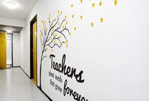 School foyer ideas