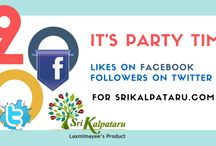 CELEBRATIONS / We are Not Big Branded people, We are not Celebrities , We are not big Investors, But, We are the Best Techy Entrepreneurs Supporters. Its happy to See 200 FB Likes and 200 Followers on Twitter in span of 11 days https://www.facebook.com/srikalpataru/