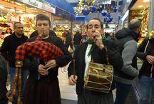 Sorteo, Dimonis y Xeremiers en #EsNouMercatOlivar / Con motivo del sorteo que celebra anualmente el Mercado y coincidiendo con las fiestas patronales, hemos amenizado dicho evento con los tradicionales Dimonis y Xeremiers.