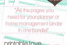 Planning, Organization & Budgeting / by Jackie Stuckey