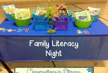 literacy night / by Angelica Garrido