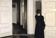 Vilhelm Hammershoi / (Danish Artist, 1864–1916)