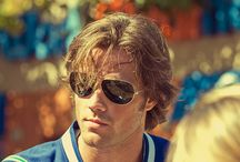 Jared / Jared Padalecki. Plays Sam Winchester on Supernatural. I think he is adorable.