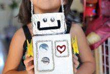 Roboter basteln