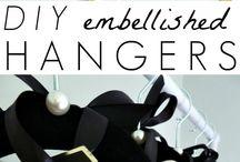 DIY Hangers / Embellished hangers