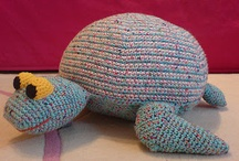 Tartaruga de crochê