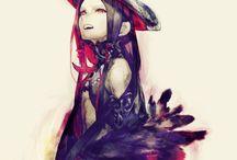 Demoni anime art