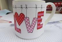Cup decor