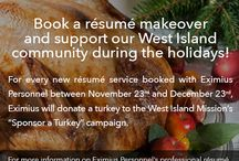 Sponsor a Turkey / This important campaign will put a turkey on the table of families in our West Island community who might not otherwise have one for their holiday meal. Established in February 2005, West Island Mission provides well-balanced food assistance and other related aid to the less fortunate living in the West Island of Montreal. In 2014 alone, they distributed more than 2,000 food baskets!