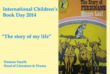 International Children's Book Day 2014 / Arts Council of Northern Ireland staff members list their favourite childhood reads