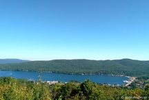 Lake George Hiking - Prospect Mountain / Lake George region is a great place to hike. Prospect Mountain is very close to the village and you can get to the top by car or by foot.