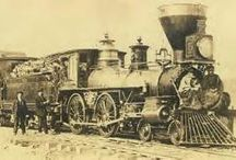 Home School...TRANSCONTINENTAL RAILROAD / by Wendy Ruth-Blackwell