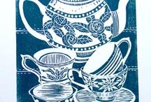 Printmaking: Linocuts / by Laura Flagg