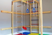 Kids Gym and Game room / Design for kids gym n activities room