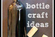 Artesanías Con Botellas De Vino