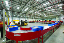 DHL / Transforming of DHL #logistics warehouse hubs. The images here at from the Lewisham depot in #London