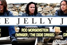 THE JELLY JAM at The Newton Theatre / Three piece rock band The Jelly Jam features heavyweights Ty Tabor of King's X (guitar, vocals), Rod Morgenstein of The Dixie Dregs and Winger  (drums) and John Myung of Dream Theater (bass). This supergroup may have prog rock in their blood, but The Jelly Jam defies genres with a combination of rock styles in a hard-hitting show! http://www.thenewtontheatre.com/acts/jelly-jam.html