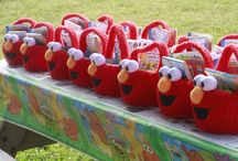 Elmo Birthday Party Ideas / Elmo Birthday Party Ideas / by afrugalchick