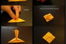 Craft with papers