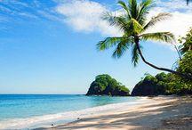 Relaxen am Strand / Costa Rica liegt majestätisch eingebettet zwischen dem pazifischen Ozean und dem karibischen Meer, auf der zentralamerikanischen Landenge. Seine ungleichmäßigen Küsten sind voll mit unglaublich schönen Stränden, Halbinseln, Buchten und Golfen...perfekt um zu entspannen.