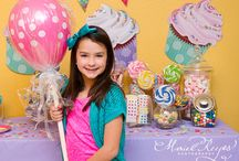 Birthday Party Themes for the Girls. ★ / by Stephanie Lynn