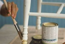 Male gamle møbler - DIY