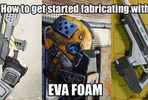 EVA foam crafting