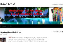 My Lloyd Dobson Artist Blog / http://LloydDobsonArtist.com - Marketing tips for selling artwork and gallery of oil paintings