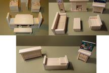 Poppenhuis meubeltjes